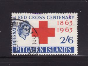 Pitcairn Islands 37 U Queen Elizabeth II, Red Cross