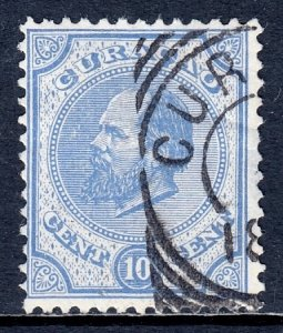 Netherlands Antilles - Scott #4 - Used - Thinning at right, crease - SCV $17