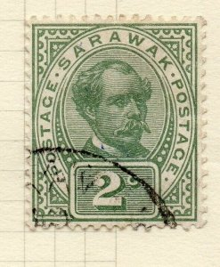 Sarawak 1899 Early Issue Fine Used 2c. 276145