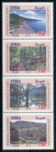 Syria Landscapes Stamps 2019 MNH Intl Day Tourism Trees Nature Beaches 4v Strip