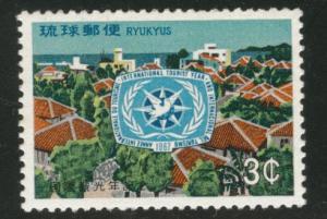 RYUKYU (Okinawa) Scott 162 MNH** 1967 ITY stamp