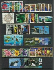 NZ387) New Zealand 2000/01 Xmas, Art from Nature, Penguins CTO/Used