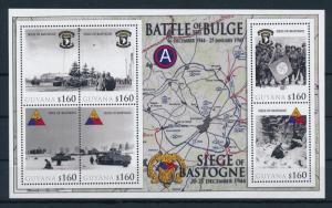 [81182] Guyana 2010 WWII Siege of Bastogne Ardennes offensive Sheet MNH