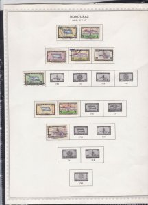 honduras stamps page ref 17310