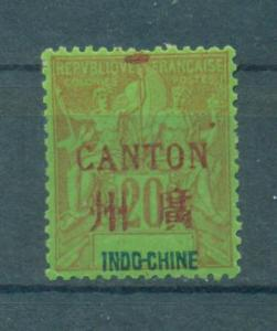 France Offices - China - Canton sc# 7 mh cat value $24.00
