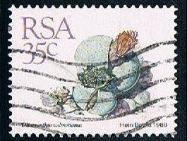 South Africa 746, 35c Succlents, used, VF