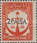 MNH** Pakistan - Previous Stamps Surcharged with New Currency-1961