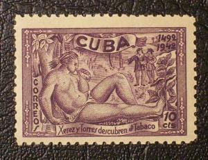 Cuba Scott #390 mnh
