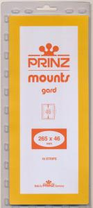 Prinz Scott Stamp Mount 46/265 BLACK Background Pack of 10