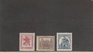 HUNGARY B69-B71 MNH 2019 SCOTT CATALOGUE VALUE $18.50