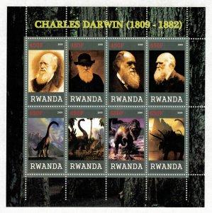 Charles Darwin, Block (3147-T)