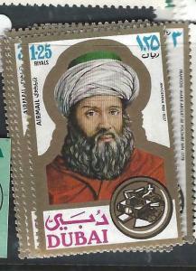 DUBAI   (PP1505B)  SG 381-4   MNH