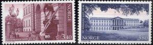 Norway Scott 1206-1207 MNH**1998 Palace set