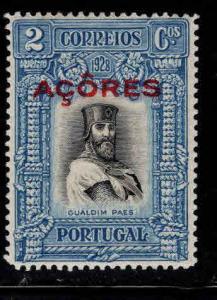 Azores Scott 284 MH*  overprint stamp