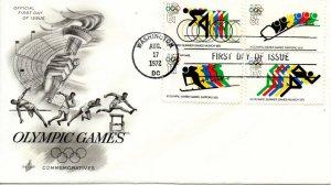 US FDC #1460/C85 Olympics, ArtCraft (2958)