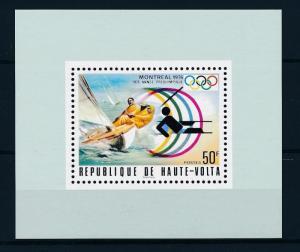 [55727] Burkina Faso 1976 Olympic games Montreal Sailing MNH Sheet
