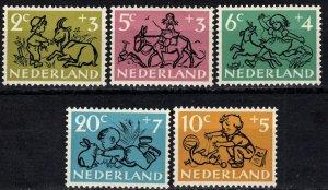 Netherlands #B243-7 MNH  CV $8.25 (X7111)