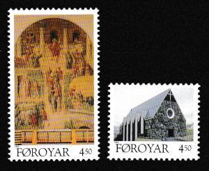 Faroe Is. Christmas 2v issue 1996 SG#318-319 SC#310-311