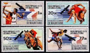 Mauritania. 1983 Complete Set(4v) Unmounted Mint