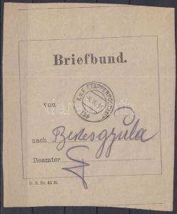 Hungary stamp Letter bag address `EP 329`-Gyula 1916 Cover WS231100