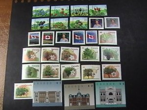 CANADA # 1349 - 1378-MINT NEVER/HINGED---COMPLETE SET----1991-98