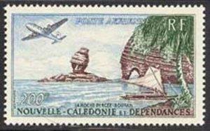 New Caledonia 1959 Bourail Rocks Sc# C27 NH