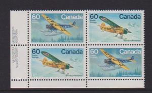 CANADA PLATE BLOCK MNH STAMPS #972a LOT#PB514