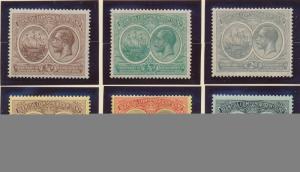 Bermuda Stamp Set Scott #55-60, Mint Hinged - Free U.S. Shipping, Free Worldw...