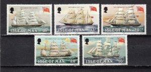 Isle of Man 1984 Ships MNH