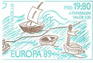 Sweden #1738a Complete Booklet CV $12.50 (X4993)
