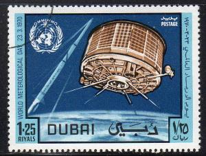 Dubai 123 - Cto - Satellite (cv $0.30)