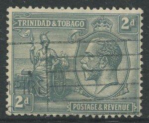 STAMP STATION PERTH Trinidad & Tobago #24 KGV Britania Used Wmk 4 - 1922-28