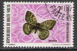 Upper Volta #245 Butterflies & Moths CTOH