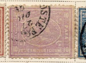 Egypt 1872 Early Issue Fine Used 10p. 324041