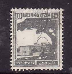 Palestine-Sc#73- id5-used 10m deep gray-1927-42-