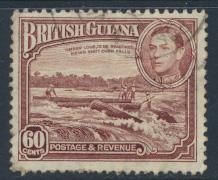 British Guiana SG 315  perf 12½ Used (Sc# 237 see details)