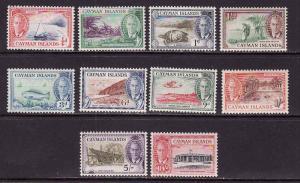 Cayman Is.-Sc#122-34,ex 126-7,132-unused NH KGVI set-1950-