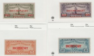 Philippines Revenue fiscal 6-24-21 Multi Scans slight toning on back few 12 Stam