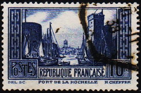 France.1929 10f S.G.474b Fine Used