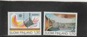 Finland  Scott#  679-80  MNH  (1983 Europa)