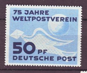 J22481 Jlstamps 1949 germany ddr set of 1 mnh #48 bird
