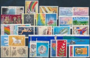 Thematic lot stamp Europa CEPT 17 issues 1995 MNH WS183395