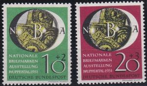 Germany B318-B319 MNH (1951)