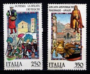 Italy 1985 Folk Customs Set [Mint]