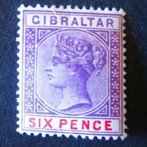 Gibraltar #19 Mint Hinged- (AZ6) WDWPhilatelic!