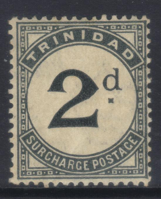 TRINIDAD 1905-1906 POSTAGE DUE SGD11 MH CAT £40