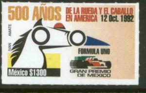 MEXICO 1722, FORMULA ONE GRAND PRIX.  MINT, NH. VF.