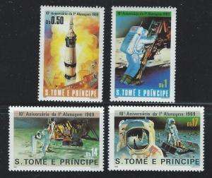ST, THOMAS AND PRINCIPE SC # 578 - 81   MNH