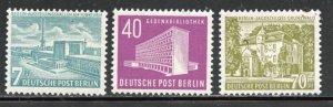 Berlin # 9N108-110. Mint Hinge. CV $ 35.00