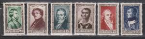 FRANCE Scott # B258-63 MNH - Semi-postals